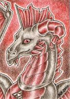 ACEO Trade: Awaken Dragon by Agaave
