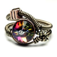 volcano steampunk ring 2 by CatherinetteRings