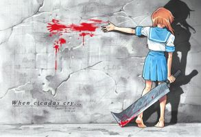 Higurashi No Koro Naku by Nick-Ian