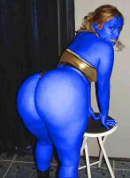 I Like Blue Butts  2 by no-one-here124