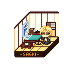 Saeki's room by Nigiri-chan