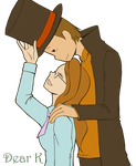 Claire and Layton by yiseo