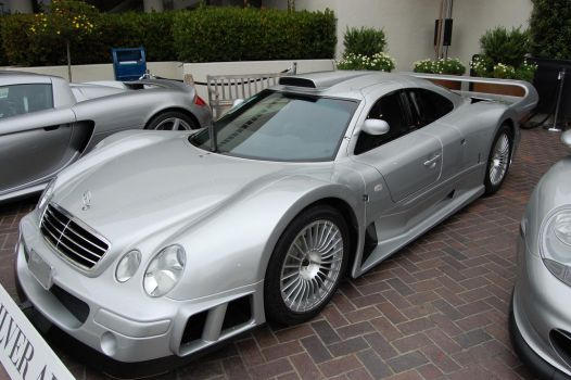 Mercedes AMG CLK GTR 1 of 25 by Partywave