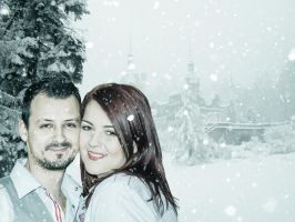 Maria and Ibo-8 winter by mydas5