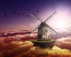 WINDMILL IN THE SKY by EpsylonGraph