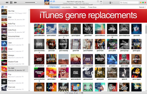 iTunes Genre Replacements by elomlodziezowy