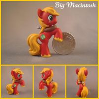 Big Macintosh - blind bag pony by hannaliten