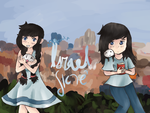 Contest Entry: Israel and Nyo!Israel by israel-aph