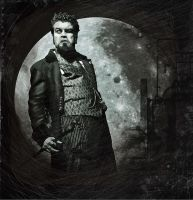 Fullmoon. by DeanMcClelland