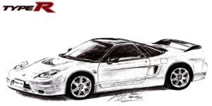 Honda NSX Type-R Supercar by toyonda