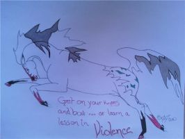 Violence by obsidianhart