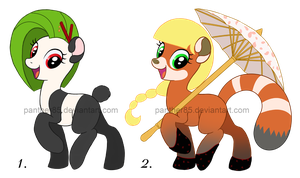 Pony Adoptables (CLOSED) by Panther85