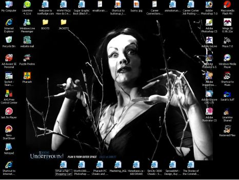 Desktop by moonie