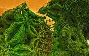 A fractal for Lovecraft by PhotoComix2