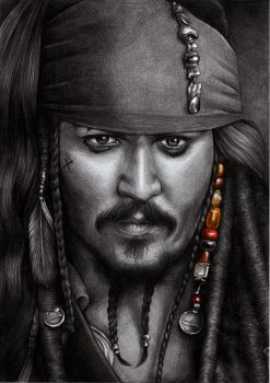 Jack Sparrow by youngmoons