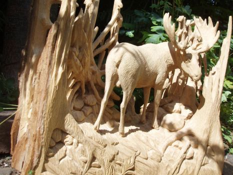 Moose 1 pic2 by woodcarve