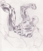 Scarlet Spider-man Unfinished by spyder8108