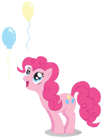Pinkie's balloons by LittleHybridShila