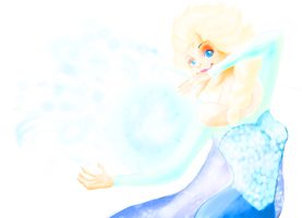 Contest Entry : Elsa , The Snow Queen by omg90skid