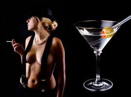 martini mixed by MarksontheStreet