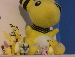 ~Ampharos Collection~ by Catty-Mintgum