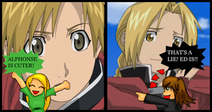 Who is Cuter, Ed or Al by Airafleeza