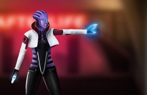 Aria T'Loak by MadHatter08