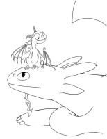 Toothless n Terible Terror by MadMouseMedia