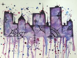 City in Colour by onyx-galaxy