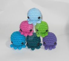 Pocket sized octopus amigurumi! by StitchedLoveCrochet
