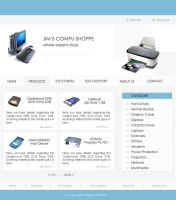 Webpage Template 003 by magneto-ms