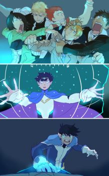 MP100/Voltron Crossover by Medli45