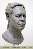 life size portrait sculpture2 by Imaresqd1