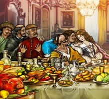 Last Supper in Polish Commonwealth, Part I by DevJohnson