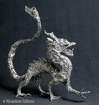 Aluminum foil Oriental dragon by Reptangle