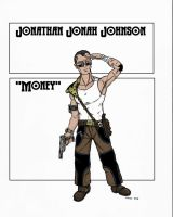 Money, Shadowrunner by squinkyproductions