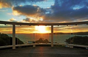 Sunset at Waiheke Island by SukhRiar