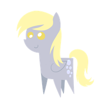 Derpy Hooves chibi by DragonGirl983