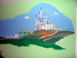 Castle mural by Shalladdrin