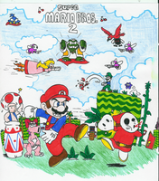 Super Mario Bros 2 by Hyliaman