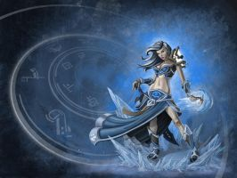 Frost Mage by AJNazzaro