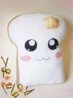 Toast plush by TheDarkLittleBunnY