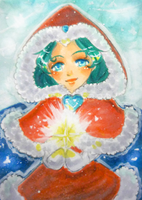ACEO - Christmas Star by SanoWasHere