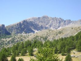 Mountain in the Valle delle Meraviglie by FraterSINISTER