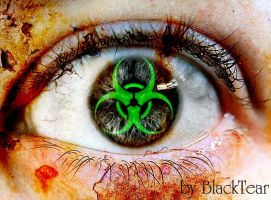 Biohazard Eye by DeathsBlacktear