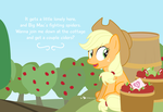 An Apple Horse Valentine by dm29