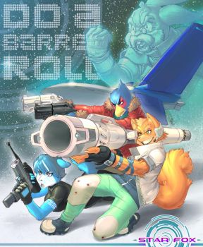 Star_Fox_Now by lost-tyrant