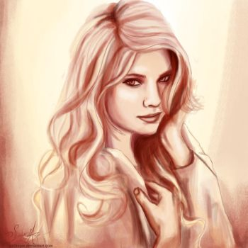 Ashley Benson, Hanna Marin. by artissx