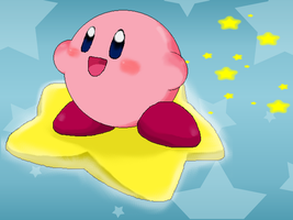 Kirby of the Stars by Rotommowtom