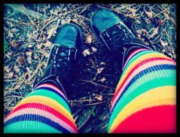 ::Rianbow Socks:: by Isika
